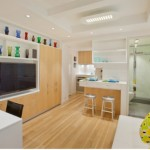Mẫu thiết kế phòng bếp tiện lợi cho nhà nhỏ