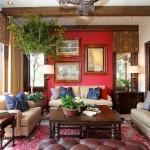 Sưởi ấm phòng khách với gam màu đỏ quyến rũ đón Noel về 1